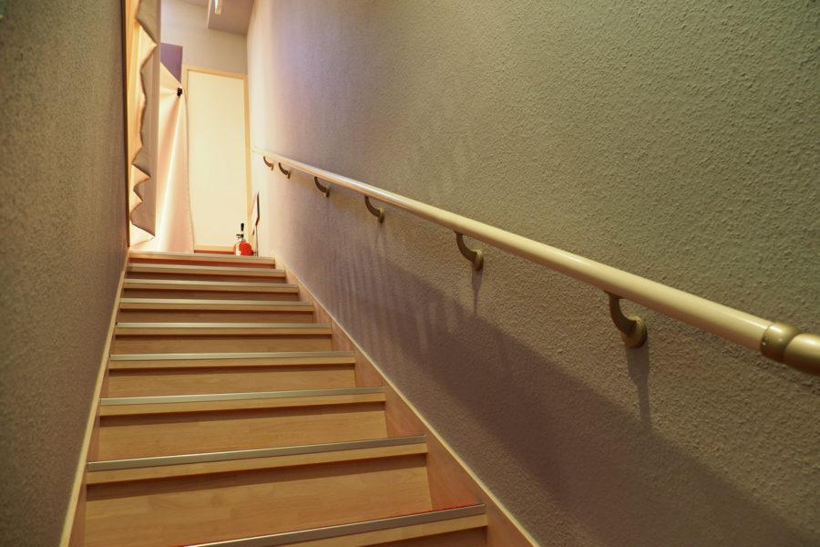 花座の階段